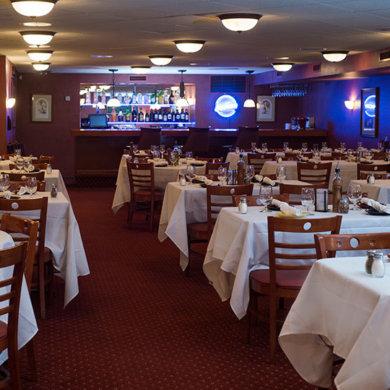 Private dining - Portofino room, seats 50 - 100 guests.