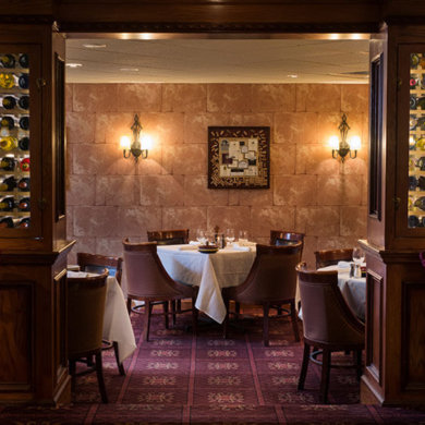 Private dining - Wine Cellar, seats 20 - 30 guests.